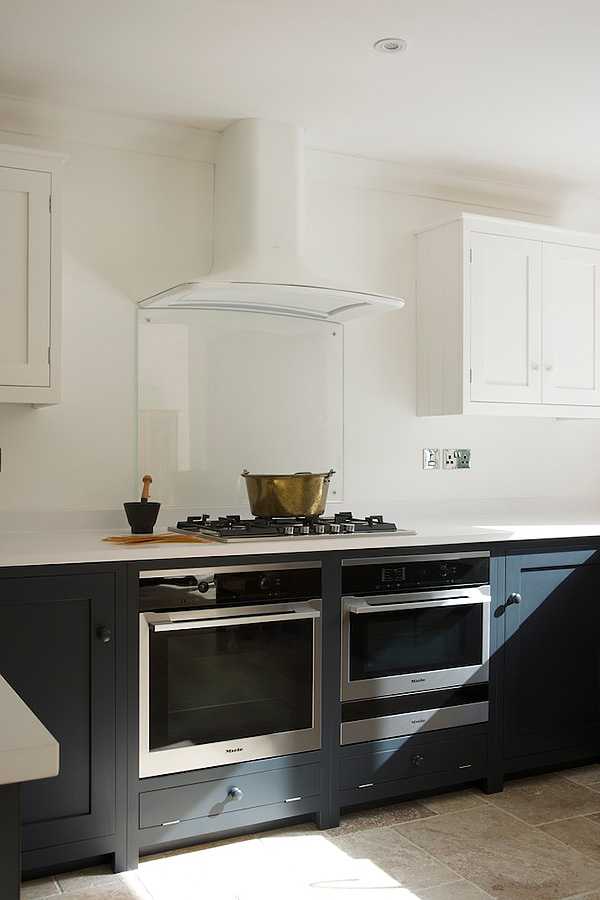 White Kitchen Extractor Fan