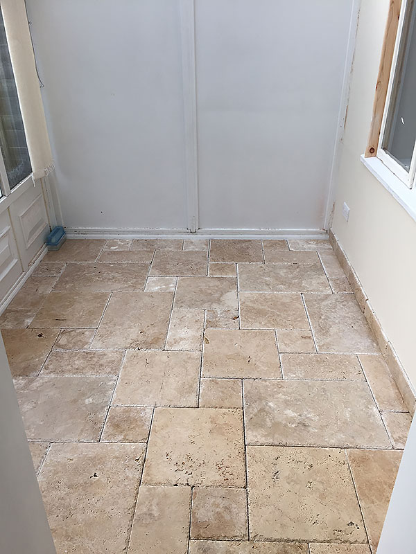I Chose The Limestone Colour Grout As Felt This Would Work Best With Rustic Travertine And Complement Natural Warm Tones Of Stone