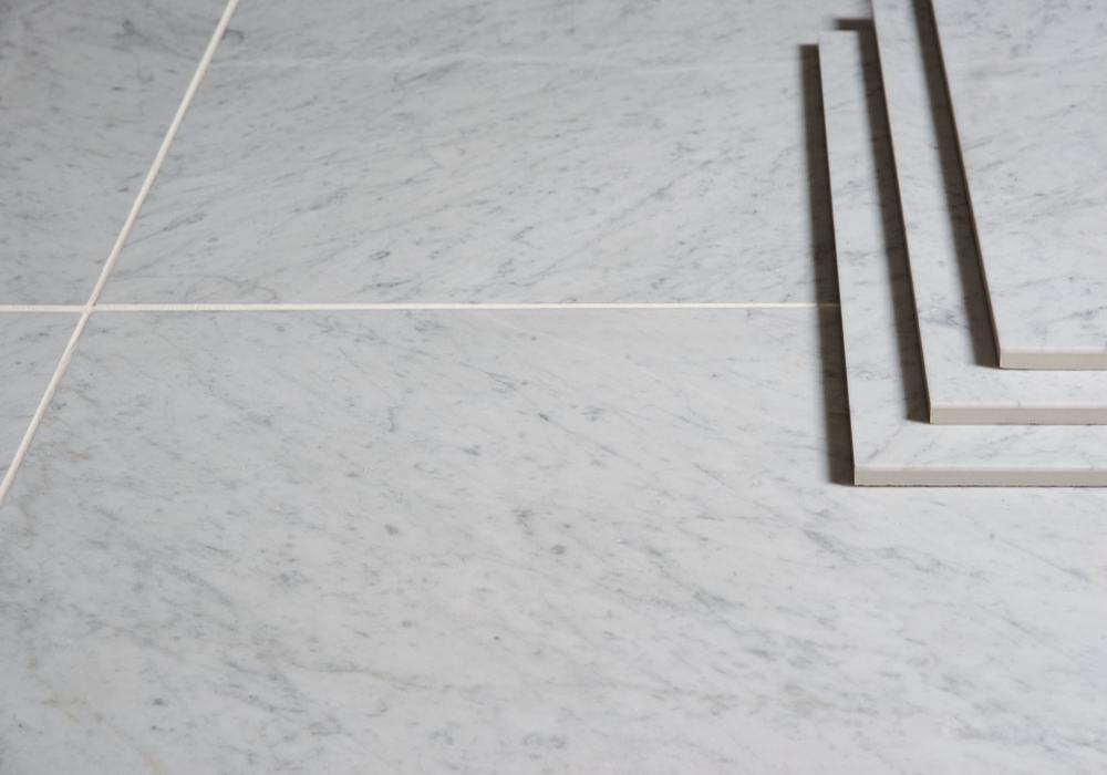 Bianco Carrara C Honed Marble Tiles