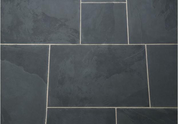 Dark Slate Tile : Brazilian black slate tiles floors of stone