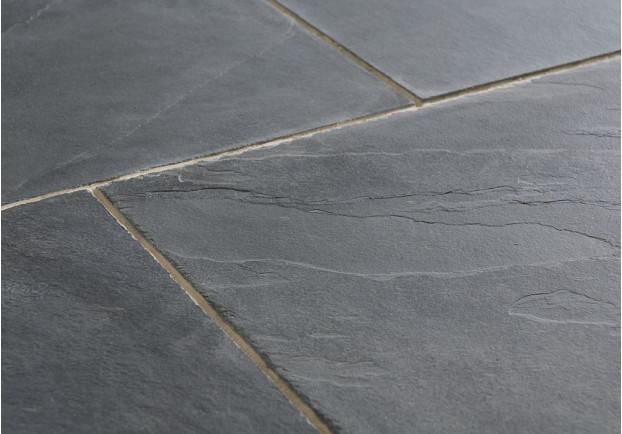 Calibrated slate floor tiles carpet review for Big black floor tiles