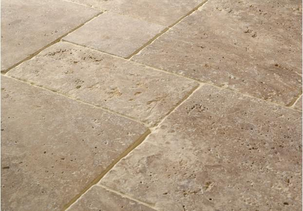 Noce Tumbled Travertine Tiles Floors Of Stone