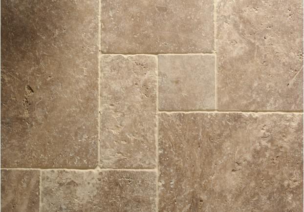 Noce Tumbled Travertine Tiles Floors Of Stone