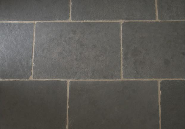 Worn Grey Limestone Tiles Floors Of Stone
