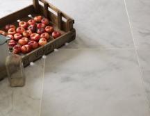 Bianco White Polished Marble Tiles thumb 1