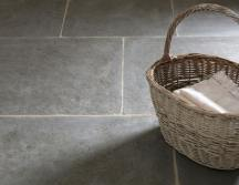Hand Dressed Antiqued Ash Limestone Tiles thumb 3