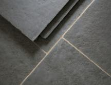 Hand Dressed Antiqued Ash Limestone Tiles thumb 5