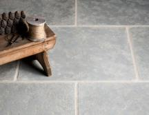 Tumbled Antiqued Ash Limestone Tiles thumb 1