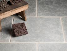Tumbled Antiqued Ash Limestone Tiles thumb 3