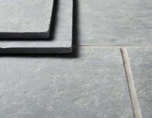 Tumbled Antiqued Ash Limestone Tiles thumb 4