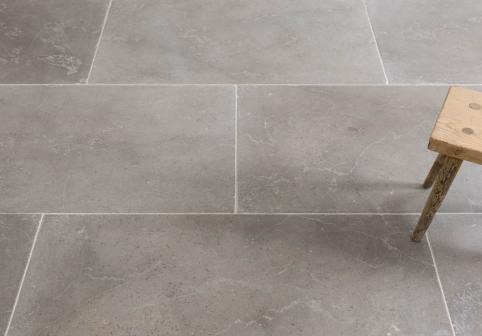 Dove Grey Brushed Limestone