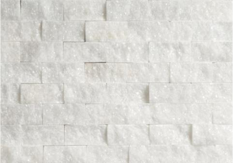 Bianco White Marble Split Face Tiles