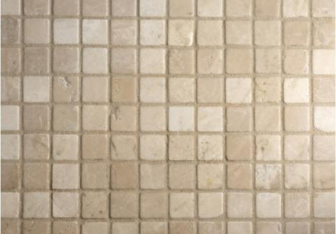 Botticino Tumbled Marble Mosaic Tiles