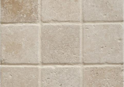 Light Tumbled Travertine Splashback Tiles