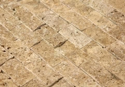 Noce Split Face Travertine Tiles
