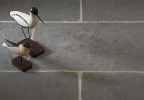 Worn Grey Limestone Tiles
