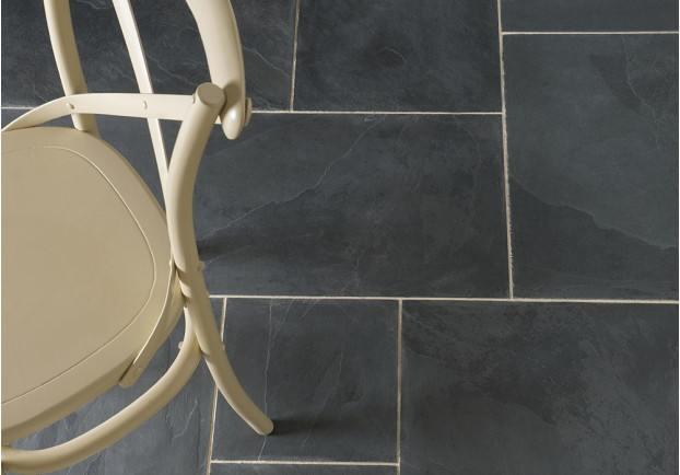 Black Farmhouse Flagstone Tiles Floors Of Stone