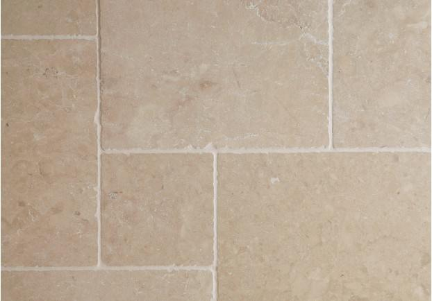 Light Tumbled Travertine Tiles Floors Of Stone