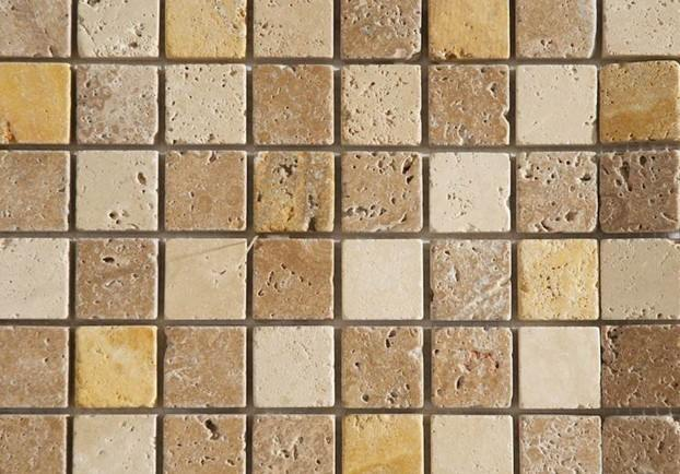Mixed Travertine Mosaic Tiles