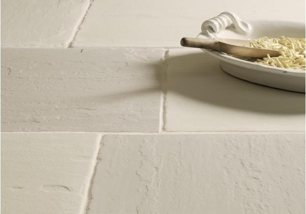 Worn Ivory Sandstone Tiles