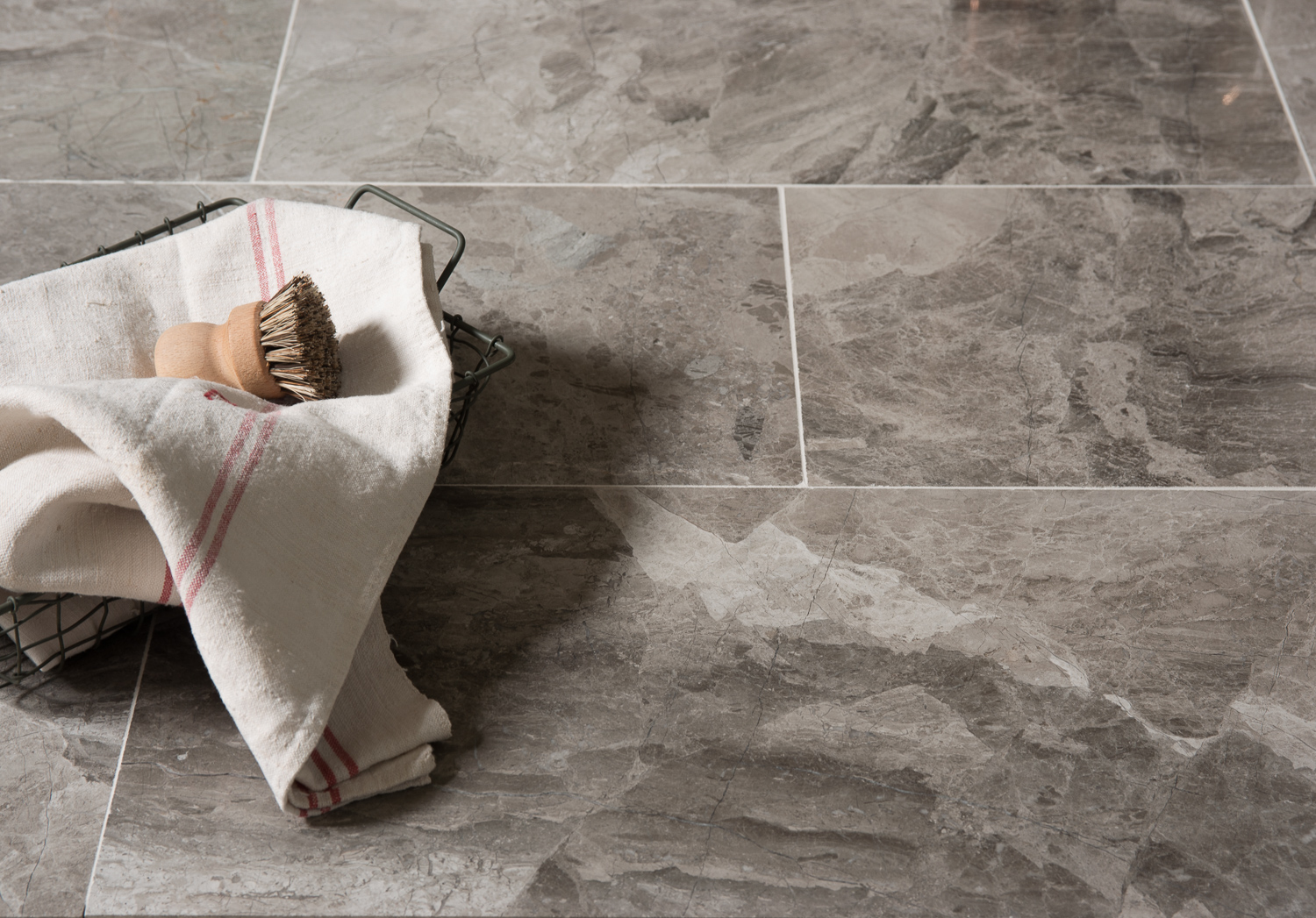Anzer Grey Polished Marble Floors Of Stone
