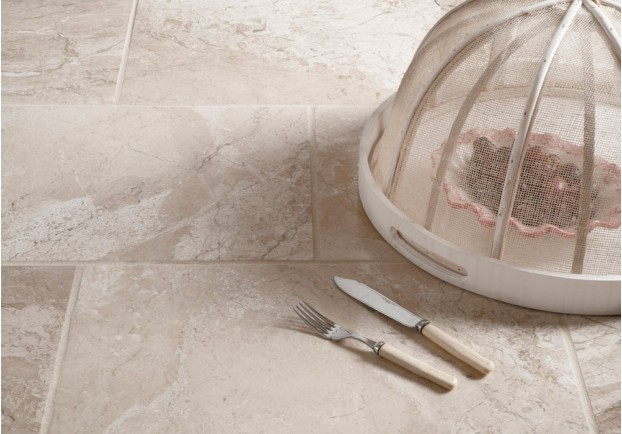 Crema Bella Polished Marble Tiles