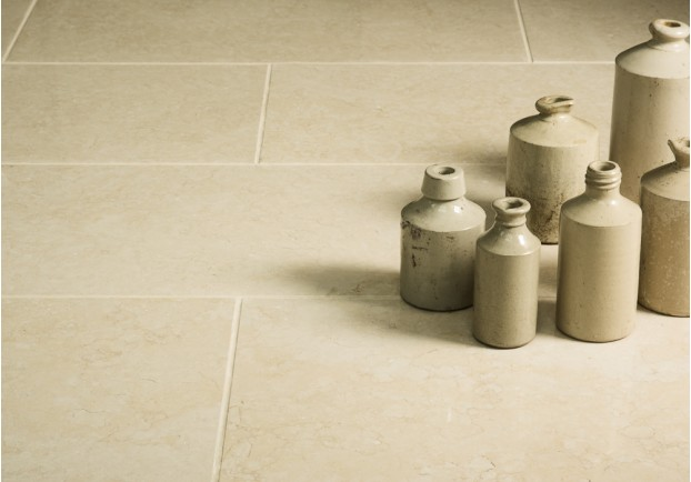 Light Jerusalem Polished Limestone Tiles